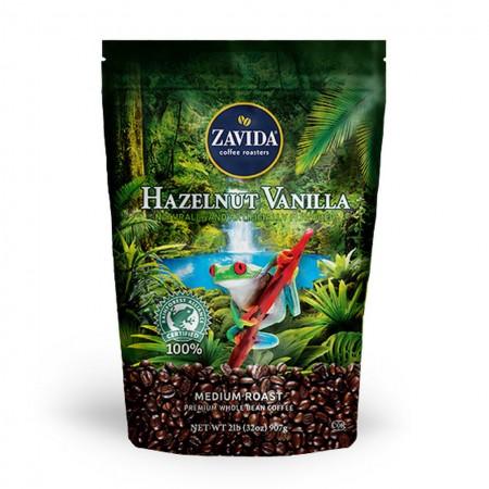 Zavida Hazelnut Vanilla Rainforest Alliance - Ваніль і лісовий горіх рейнфорест
